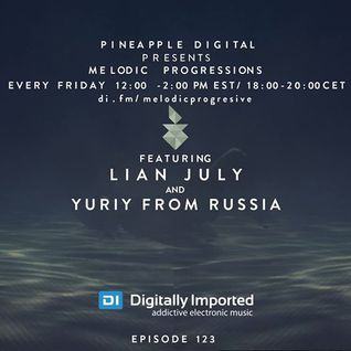 Yuriy From Russia - Guest Mix for Pineapple Digital on Digitally Imported (September 2016)