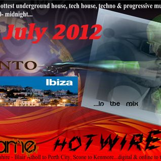 Hotwired with Nikki Flame and Claud Santo 11th July 2012
