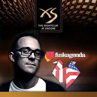 Funkagenda - Live @ XS Nightclub, Encore (Las Vegas, USA) - 06.01.2012 - www.LiveSets.at