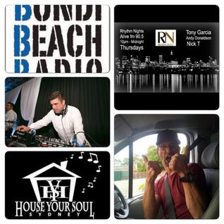 Hys Radio Show Feat Tony Garcia (Rhythm Nights)12:3:2015