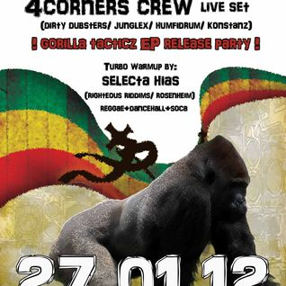 "4corners-crew ""ponyvibez#2"" minipromomix pt.1 dubwize d&b"