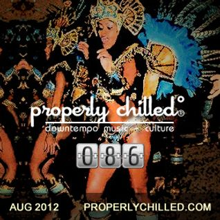 Properly Chilled Podcast #86: August 2012