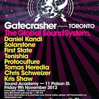 First State - Live @ Gatecrasher (Toronto, Canada) - 09.11.2012