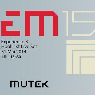 Hooll - LIVE @ MUTEK 2014