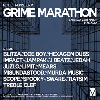 26/03/2016 - Grime Marathon [Part 1] - Mode FM (Podcast)