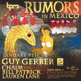 GUY GERBER - RUMORS SHOWCASE @ CANIBAL ROYAL, THE BPM FESTIVAL 2015 - 9 ENE 2015