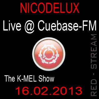 Nicodelux Live @ CubaseFM The K-Mel Show 16.02.2013