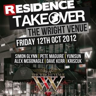 KrisCuk @ Residence Takeover - The Wright Venue [12.10.12]