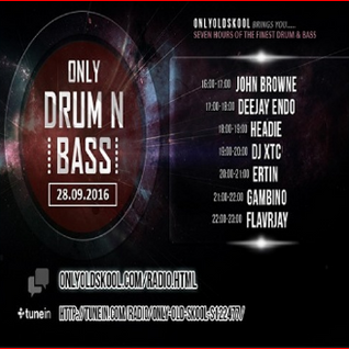 FLavRjay on OOS Radio. Only Drum n Bass Night. 28-Sept-16