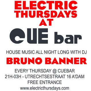 Bruno Banner @ Electric Thursdays 22-03-2012 Part 1