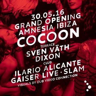 Ilario Alicante @ Cocoon Grand Opening, Amnesia Ibiza - 30 May 2016