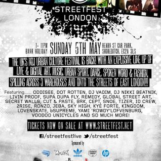 Streetfest Mix - 5th May