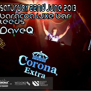 Movida Corona Regional Final (Winning Tracklist) - Baracoa Luxe Bar, Leeds