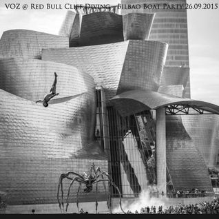 VOZ @ Red Bull Cliff Diving - Bilbao Boat Party - Septiembre 2015