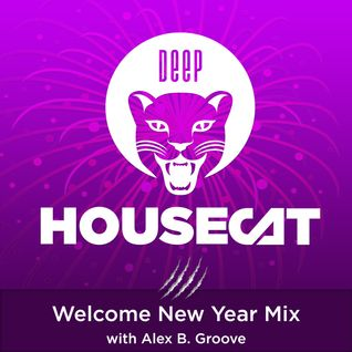 Deep House Cat Show – Welcome New Year Mix – with Alex B. Groove