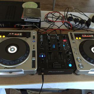 DJ Starski hits the big red button