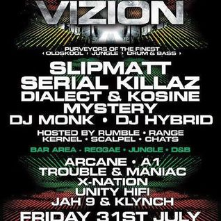 DJ A1 LIVE AT VIZION AT CONCORDE 2 - JUMPUP AND LIQUID - (NO MC)