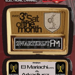 STROM:KRAFT presents Zwartkrijt FM. Exclusive set by El Mariachi (UKR)