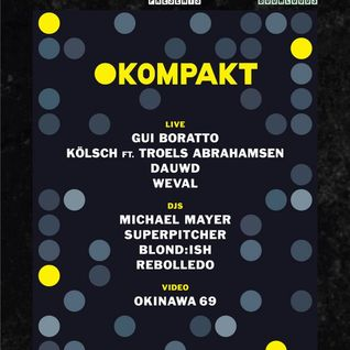 Michael Mayer  -  Live At DGTL Presents Kompakt, Scheepsbouwloods (ADE 2014 Amsterdam)  - 18-Oct-2