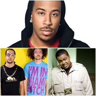 sean kingston vs ludacris and lmfao-beautiful miami bitch vs how low(gigi gagarin mashup)
