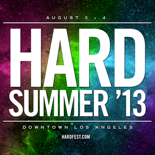 THE EDM SHOW *HARD SUMMER 2013 SPECIAL* : Roiic CanCon Mix