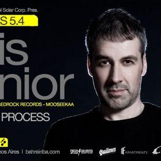 Luis Junior - Live at Bahrein, Buenos Aires, Argentina (05-04-2012)