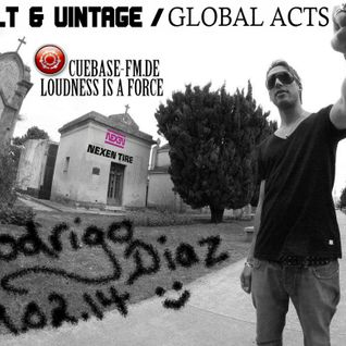 Rodrigo Diaz @ Volt & Vintage -GLOBAL ACTS- on Cuebase-fm