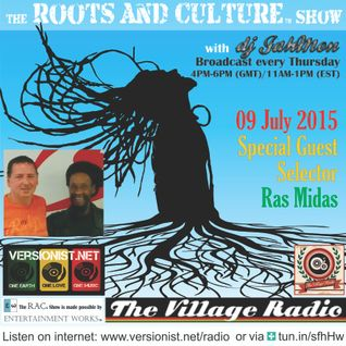Guest Selector Ras Midas on the Roots and Culture Show