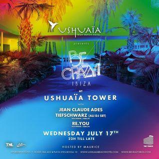 Re.You - Live @ Be Crazy, Ushuaia, Ibiza (17-07-2013)