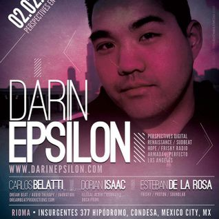 Darin Epsilon - Live at Rioma in Mexico City / friskyPodcast 173