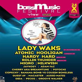Guest69 @ Bass Music Festival 2015, Peron 5, Szczecin (24.10.2015)