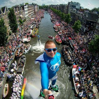 DJ JOSE @ Canal Parade Gaypride Amsterdam 2016