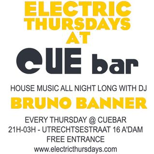 Bruno Banner @ Electric Thursdays 29-03-12 Part 1