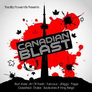 SHORTEE BLITZ'S CANADIAN BLAST (RE UP)