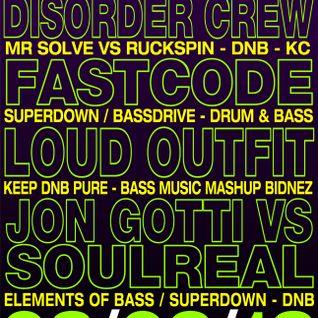 Fastcode - Live @ Bass & Bliss 03/02/2013