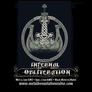 Infernal Obliteration Episode III, 21-Sep-2016 @ Metal Devastation Radio