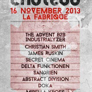 Secret Cinema @ Chateau Techno La Fabrique (16-11-13)