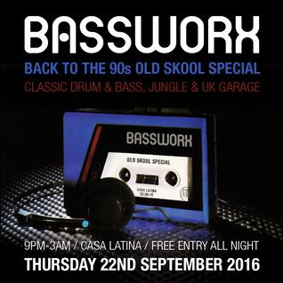 BASSWORX Old Skool Party - WOODLE (UK Garage)
