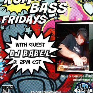 !Live Rum & Bass Friday's @BrandonDNB with DJ BABEL on @HushFMRadio - www.hushfm.com (5-22-2015)