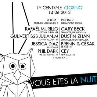 CEY @ Closing La Centrale, Redlight, Paris, 140613