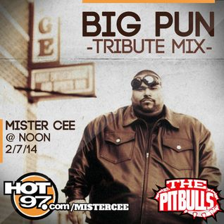 @DJMISTERCEE Big Pun Tribute Mix on Hot 97