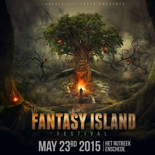 Angerfist LIVE @ Fantasy Island Festival 2015