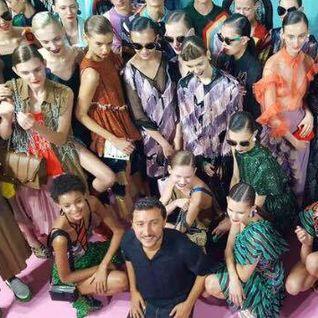 Protopapa for Marco De Vincenzo Milan Fashion Show SS 2017