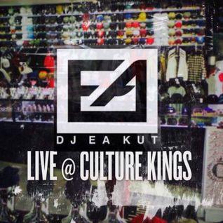 THROWBACK THURSDAYS @ CULTURE KINGS - (FEB 2016) DJ EA KUT
