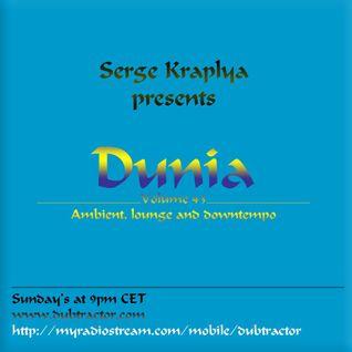 Cham'o and Serge Kraplya present Dunia : 43 (2h set for Dubtractor Radio)