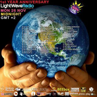 Shlomi B @ LightWave Radio 1 Year Anniversary November 2012
