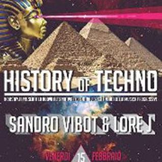 15.2.2013 Lore J & Sandro Vibot @ History of Techno / Tropicana