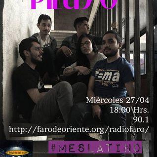 Faro en las calles entrevista a Piluso el día 27 de Abril 2016 por Radio Faro 90.1 FM