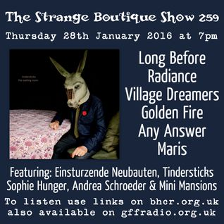 The Strange Boutique Show 259