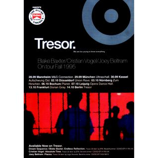 Pierre, Marky, Blake Baxter, Joey Beltram & C. Vogel - Tresor Tour @ Aufschwung Ost (30.09.1995)